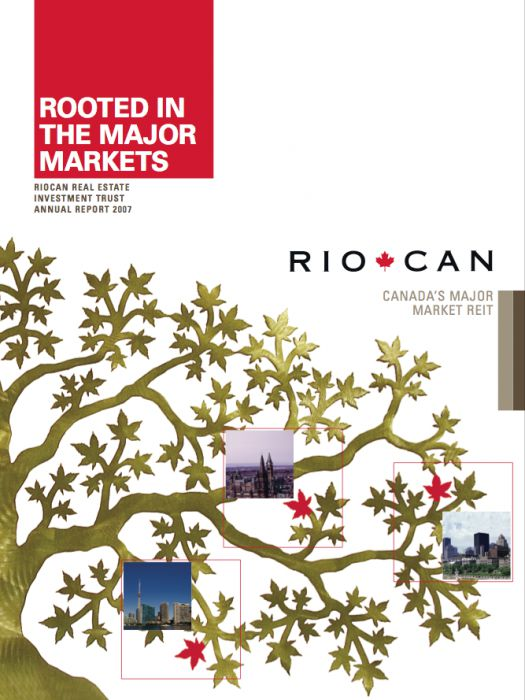 Riocan Annual Report Cover 2007