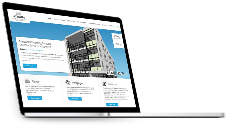 Atrium Corporate Website